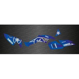 Kit decoration Karbonik series (Blue) - IDgrafix - Yamaha 350 Raptor - IDgrafix