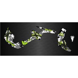 Kit de decoración de XC de Camuflaje Completo IDgrafix - Can Am Renegade -idgrafix