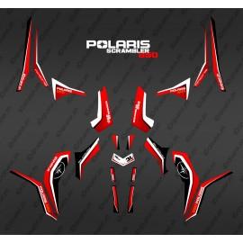 Kit décoration Pure Rouge (Light) - IDgrafix - Polaris 850 Scrambler