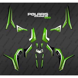 Kit decorazione Verde Puro (Luce) - IDgrafix - Polaris Scrambler 850