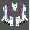 Etiqueta engomada de la F1 Williams edición - Robot cortacésped Husqvarna AUTOMOWER 105