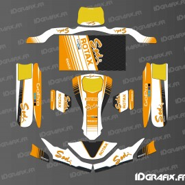 Kit déco Factory Edition Sodi Racing (Blanc/Orange) pour Karting SodiKart