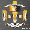 Kit deco Edizione di Fabbrica Sodi da Corsa (Bianco/Rosso) per il Karting SodiKart