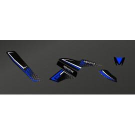 Kit Deco Monstruo (Negro/azul) - Kymco Maxxer 300 -idgrafix