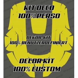 Etiqueta engomada de 100% personalizado - Robot cortacésped Husqvarna AUTOMOWER -idgrafix