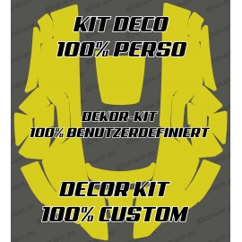 Sticker 100% personnalisé - Robot de tonte Husqvarna AUTOMOWER -automower gamme 300-400