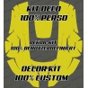 Sticker 100% personnalisé - Robot de tonte Husqvarna AUTOMOWER
