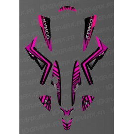 Kit Deco Personalizado Monstruo (Rose) - Kymco 250 Maxxer -idgrafix