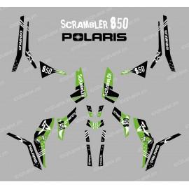 Kit decoration Street Green (Light) - IDgrafix - Polaris 850 Scrambler