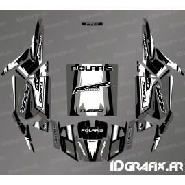 Kit decoration Straight Edition (Blue)- IDgrafix - Polaris RZR 1000 Turbo - IDgrafix