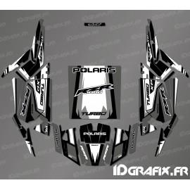 Kit dekor Straight Edition (Blau)- IDgrafix - Polaris RZR 1000 Turbo -idgrafix
