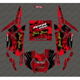 Kit decoration Black Pearl Edition (Red)- IDgrafix - Polaris RZR 1000 Turbo / Turbo S - IDgrafix