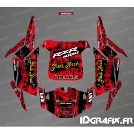 Kit de decoración de la Perla Negra Edición (Rojo)- IDgrafix - Polaris RZR 1000 Turbo -idgrafix