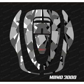 Sticker Camo Digital Edition (Grey) - Robot mower Honda Miimo 3000-idgrafix
