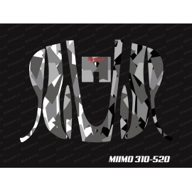 Sticker Camo Digital Edition (Grey) - Robot mower Honda Miimo 310-520-idgrafix