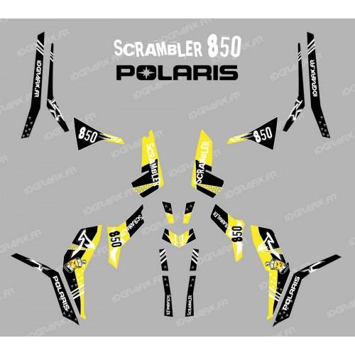 Kit decoration Street Yellow (Light) - IDgrafix - Polaris 850 Scrambler - IDgrafix