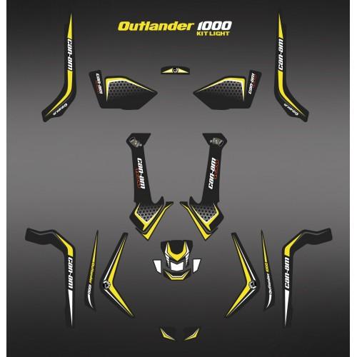 Kit de decoració de Llum X Edició Limitada - IDgrafix - Am 1000 Outlander -idgrafix