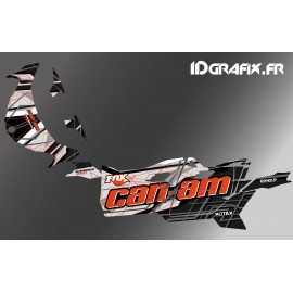Kit decoration Bond Edition (Orange) - Idgrafix - Can Am Maverick SPORT - IDgrafix