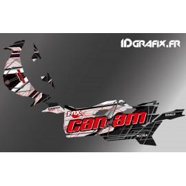 Kit décoration Bond Edition (Rouge) - Idgrafix - Can Am Maverick SPORT
