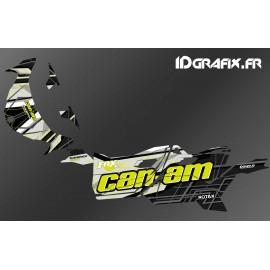 Kit décoration Bond Edition (Jaune) - Idgrafix - Can Am Maverick SPORT