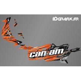 Kit décoration Cliff Edition (Orange) - Idgrafix - Can Am Maverick SPORT