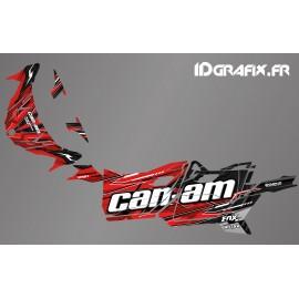 Kit décoration Cliff Edition (Rouge) - Idgrafix - Can Am Maverick SPORT