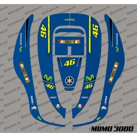 Sticker Rossi GP Edition - Robot mower Honda Miimo 3000-idgrafix