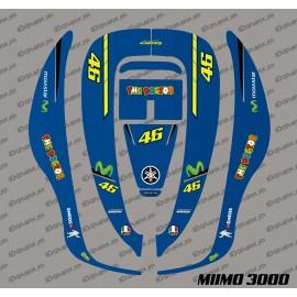 Sticker Rossi GP Edition - Robot mower Honda Miimo 3000-idgrafix