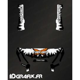 Kit de decoració de Yosemite Sèries (Blanca) - IDgrafix - Can Am Traxter -idgrafix