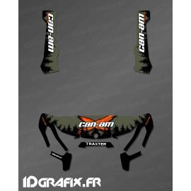 Kit décoration Yosemite Series (Kaki) - IDgrafix - Can Am Traxter