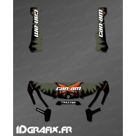 Kit decoration Yosemite Series (Khaki) - IDgrafix - Can Am Traxter