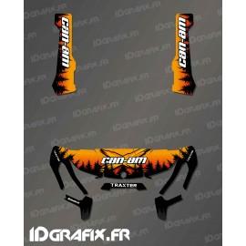 Kit de decoración de Yosemite (Serie Naranja) - IDgrafix - Can Am Traxter -idgrafix