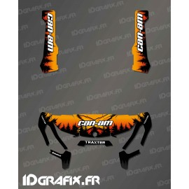 Kit decoration Yosemite Series (Orange) - IDgrafix - Can Am Traxter