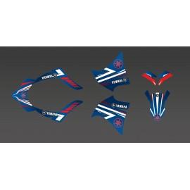 Kit deco Factory Edition (azul) para Yamaha XT 660 (2000-2007) -idgrafix
