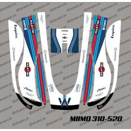 Etiqueta engomada de la F1 Williams Edición - Robot cortacésped Honda Miimo 310-520 -idgrafix