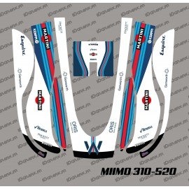 Sticker F1 Williams Edition - Robot mower Honda Miimo 310-520-idgrafix