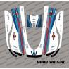 Aufkleber F1 Williams Edition - Roboter mähen Honda Miimo 310-520