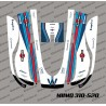 Sticker F1 Williams Edition - Robot de tonte Honda Miimo 310-520