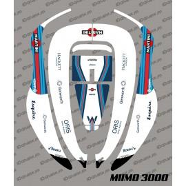 Sticker Rossi GP Edition - Robot mower Honda Miimo 3000