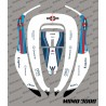 Sticker F1 Williams Edition - Robot de tonte Honda Miimo 3000