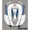 Sticker Rossi GP Edition - Roboter mähen Honda Miimo 3000