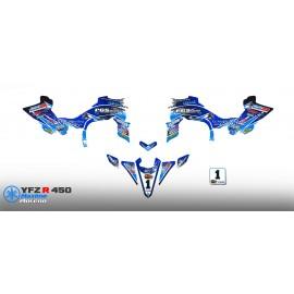 Kit déco 100 % Perso RACE pour YAMAHA 450 YFZ R