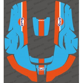 Sticker Gulf edition - Robot de tonte Husqvarna AUTOMOWER -automower gamme 300-400