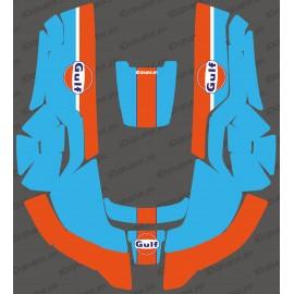 Sticker Gulf edition - Robot mower Husqvarna AUTOMOWER-idgrafix