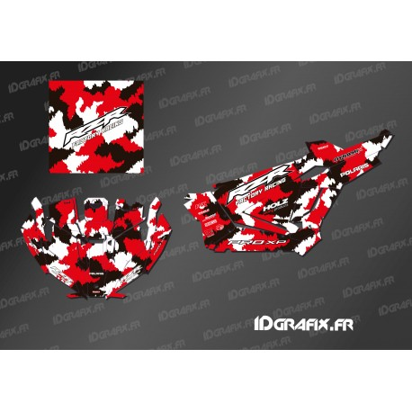 Kit decoration Camo Edition (Red)- IDgrafix - Polaris RZR Pro XP - IDgrafix