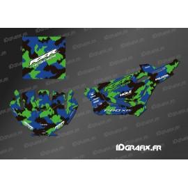 Kit dekor Camo Edition (Blau)- IDgrafix - Polaris RZR XP Pro -idgrafix