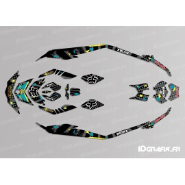 Kit decoration Rockstar Camo Edition Full (Lime) - for Seadoo GTI