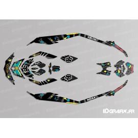 Kit dekor Rockstar-Camo Edition-Full (Lime) - für Seadoo GTI -idgrafix