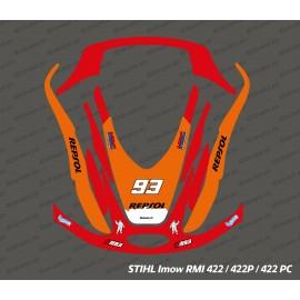 Marquez GP Edition sticker - Stihl Imow 422 robot mower