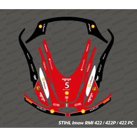 Etiqueta engomada de la F1 de Scuderia Edition - corte del Robot Stihl museo internacional de la mujer 422 -idgrafix
